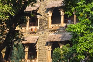 IN07081 India, Maharashtra, Mumbai, Fort area, Oval Maiden and Bombay High Court