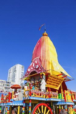 TPX57640 England, East Sussex, Brighton, Hare Krishna Festival