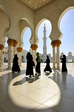 HMS0552618 United Arab Emirates, Abu Dhabi, Sheikh Zayed Bin Sultan Al Nahyan Mosque