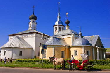 HMS0314259 Russia, Suzdal listed as World Heritage by UNESCO, former cultural and religious palace, part of the Golden Ring