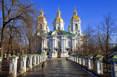 HMS0214627 Russia, Saint Petersburg, Saint Nicholas Naval Cathedral, listed as World Heritage by UNESCO