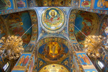 Russia, Saint Petersburg, listed as World Heritage by UNESCO, Church of the Saviour on Spilled Blood