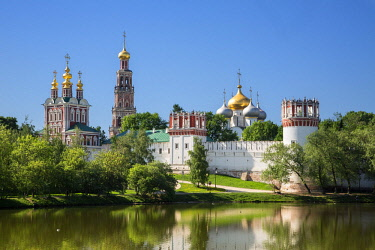 HMS1952634 Russia, Moscow, The Novodevichy Convent (aka Novodevichy Monastery) listed as World Heritage by UNESCO, is the best-known cloister of Moscow, it was founded in 1524 by Grand Prince Vasili III