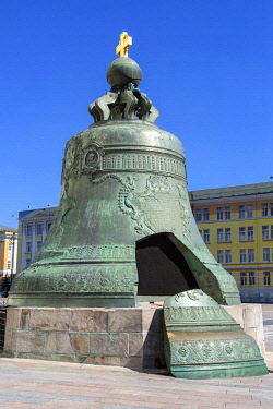 HMS1952685 Russia, Moscow, The Kremlin listed as World Heritage by UNESCO, The Tsar Bell