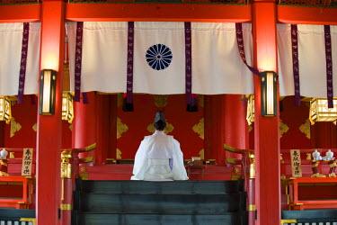 HMS0331514 Japan, Honshu Island, Kinki Region, city of Kyoto, Fushimi Inari Sanctuary