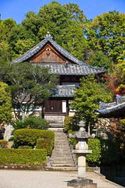 HMS0366953 Japan, Honshu Island, Kinki Region, city of Nara, Historic Monuments of Ancient Nara listed as World Heritage by UNESCO, Toshodai-ji Temple