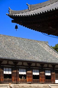 HMS0366961 Japan, Honshu Island, Kinki Region, city of Nara, Historic Monuments of Ancient Nara listed as World Heritage by UNESCO, Toshodai-ji Temple