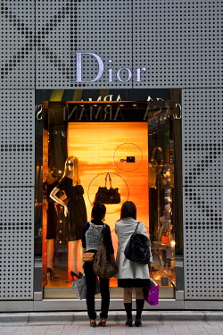 HMS0320975 Japan, Honshu Island, Tokyo, Ginza, luxury and departments shops district, Dior