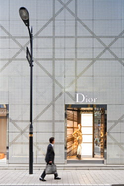 HMS0464243 Japan, Honshu Island, Tokyo, Ginza, French luxury store Dior designed by Japanese architects Sanaa