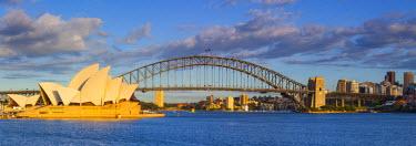 AS01232 Sydney Opera House & Harbour Bridge, Darling Harbour, Sydney, New South Wales, Australia