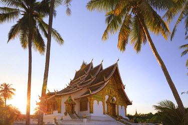 LS02034 Laos, Luang Prabang (UNESCO Site), Wat Mai Temple