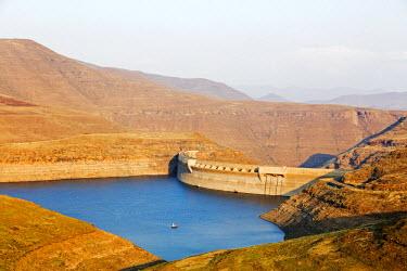 LES1195 Africa, Lesotho, Katse Dam