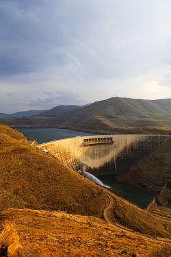 LES1196 Africa, Lesotho, Katse Dam