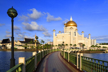 BI01005 Kingdom of Brunei, Bandar Seri Begawan, Omar Ali Saifuddien Mosque