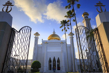 BI01008 Kingdom of Brunei, Bandar Seri Begawan, Omar Ali Saifuddien Mosque