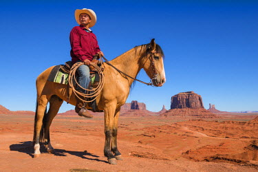 HMS2191684 United States, Arizona, Monument Valley Navajo Tribal Park, John Ford Point