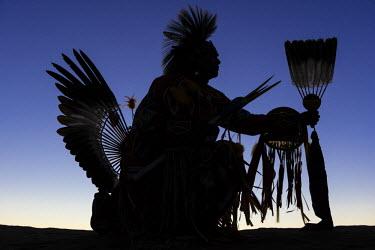 HMS2191728 United States, Arizona, Monument Valley Navajo Tribal Park, Navajo Anderson Chee