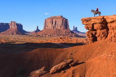 HMS2217392 United States, Arizona, Monument Valley Navajo Tribal Park, John Ford Point