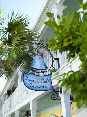 HMS0873454 United States, Florida, Miami, Creperie French Cafe in Bahama Village
