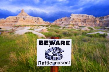 HMS0515509 United States, South Dakota, Badlands National Park