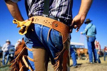HMS0515571 United States, South Dakota, cowboys