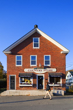 HMS0386367 United States, New England, Vermont, Taftsville, general store
