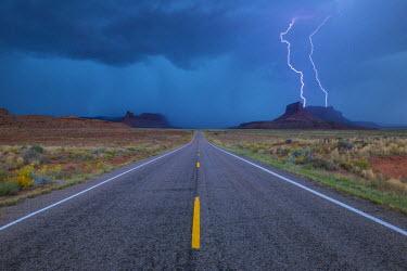 HMS2191554 United States, Utah, Canyonlands National Park close to Moab