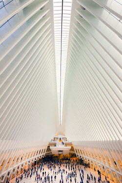 USA12178AW World trade centre terminal, Manhattan, New York, USA