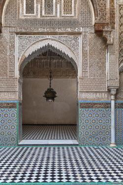 MC066RF Attarine madrasa (1325), Fes, Morocco