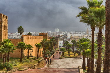 MC02914 Kasbah of the Udayas (14th century), Rabat, Morocco
