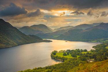 UK08053 UK, England, Cumbria, Lake District, Ullswater