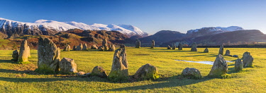 UK08073 UK, England, Cumbria, Lake District, Keswick, Castlerigg Stone Circle