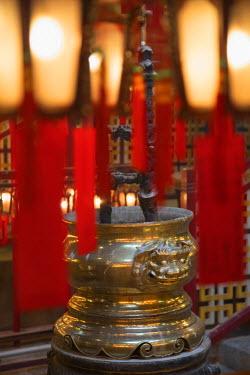CH11093AWRF Man Mo Temple, Sheung Wan, Hong Kong Island, Hong Kong, China