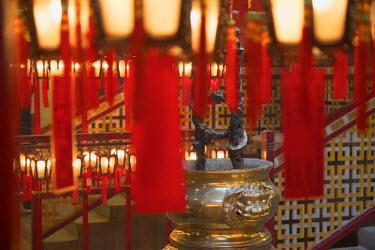 CH11094AWRF Man Mo Temple, Sheung Wan, Hong Kong Island, Hong Kong, China