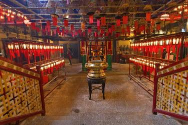 CH11021AW Man Mo Temple, Sheung Wan, Hong Kong Island, Hong Kong, China