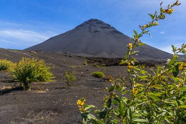 CVE0108AWRF Africa, Cape Verde, Fogo. The Pico do Fogo.