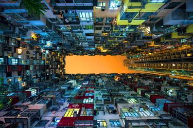 CH11106AW Apartment building near Quarry Bay, Kowloon, Hong Kong, China