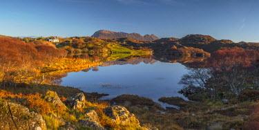 UK560RF UK, Scotland, Highland, Sutherland, Drumbeg, Loch Drumbeg