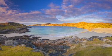 UK03380 UK, Scotland, Highland, Sutherland, Achmelvich, Achmelvich Beach