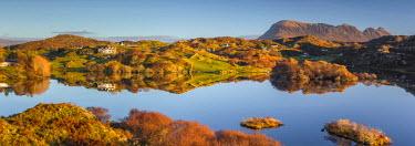 UK03383 UK, Scotland, Highland, Sutherland, Drumbeg, Loch Drumbeg