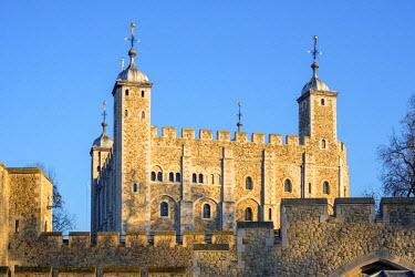 ENG14293AWRF United Kingdom, England, London. Tower of London, White Tower.