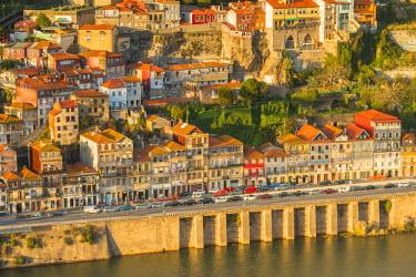 CLKAB53818 Porto old town. Oporto city, Porto district, Portugal, Europe