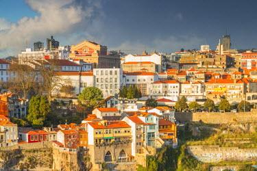 CLKAB53819 Porto old town. Oporto city, Porto district, Portugal, Europe