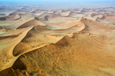 CLKMG51877 Aerial view of Namib desert, Namibia