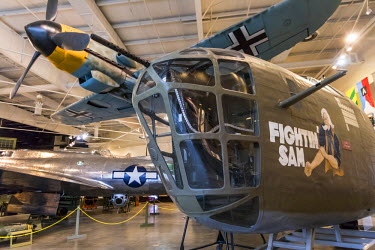 USA12356AW Mighty Eighth Air Force Museum Chronicles the history of the 8th Air Force during World War II