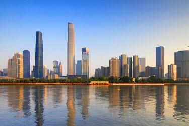 CH11177AWRF Skyline of Tianhe, Guangzhou, Guangdong, China