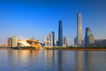 CH11178AWRF Skyline of Tianhe, Guangzhou, Guangdong, China