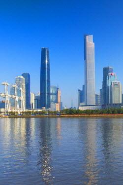 CH11179AWRF Skyline of Tianhe, Guangzhou, Guangdong, China