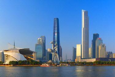 CH11185AWRF Skyline of Tianhe, Guangzhou, Guangdong, China