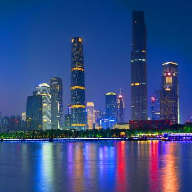 CH11146AW Skyline of Tianhe, Guangzhou, Guangdong, China